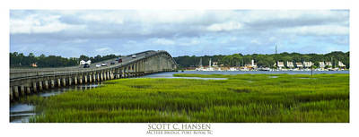 Photograph - Mcteer Bridge by Scott Hansen