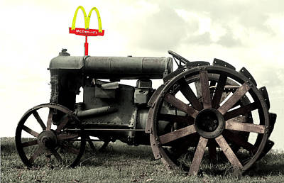 Photograph - Mctractor Big Mac by Gary Smith