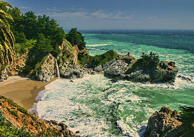 Photograph - Mcway Cove by Tom Kidd