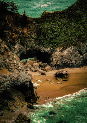 Photograph - Mcway Falls Beach by Joseph Hollingsworth