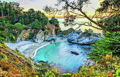 Mixed Media - Mcway Falls Paradise by David Millenheft