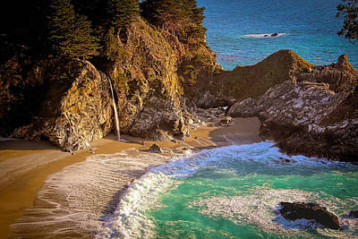 Photograph - Mcway Falls by Susan Rissi Tregoning