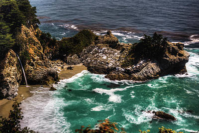 Photograph - Mcway Falls by Walt Sterneman