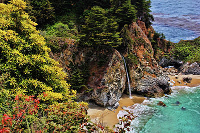 Photograph - Mcway Falls 3 by Judy Vincent