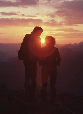 Photograph - Mdd 307 Couple At Sunset by Ed Cooper Photography