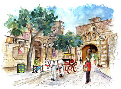 Painting - Mdina 06 by Miki De Goodaboom