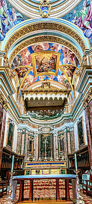Photograph - Mdina Cathedral by Maria Coulson