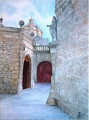 Mdina The Old City Art Print by Martin Formosa