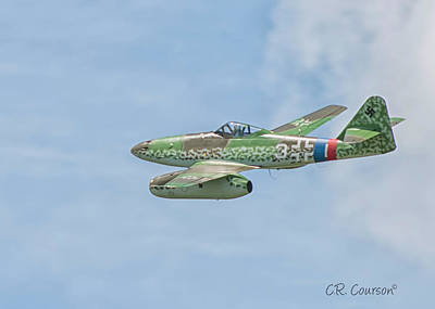 Photograph - Me 262 by CR  Courson
