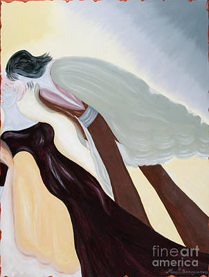 Painting - Me And Mine by MarBak Treasures by Mary P Bakogiannis