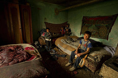 Documentary Photograph - Me And My Brothers by Mihnea Turcu