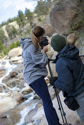 Photograph - Me And My Guide by Amber Kresge
