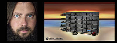 Photograph - Me And My Hotel Create by Philip A Swiderski Jr