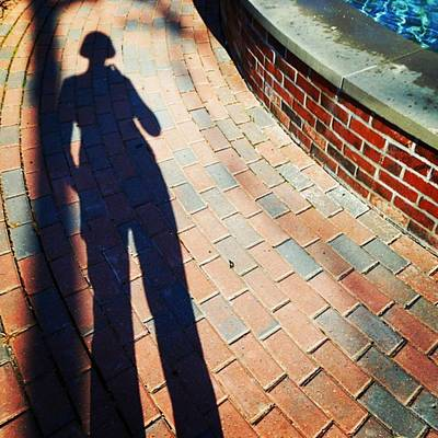 Photograph - Me And My Shadow! by Cheray Dillon