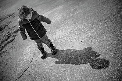 Photograph - Me And My Shadow by Patrick Groleau