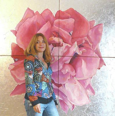 Photograph - Me And Rose by Eva Konya