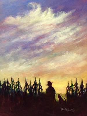 Painting - Daybreak by Randol Burns