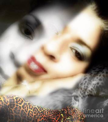 Digital Art - Me And The Jag 1 by Gayle Price Thomas