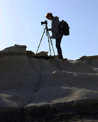 Photograph - Me At Bisti Badlands New Mexico by Amber Kresge