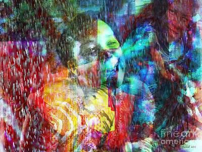 Digital Art - Me Et Moi by Fania Simon