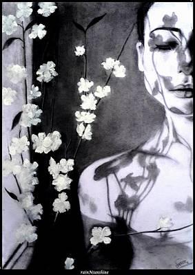 Painting - Me Gustas Cuando Callas by Trinath Sen