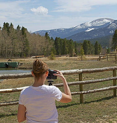 Photograph - Me In Colorado by Amber Kresge