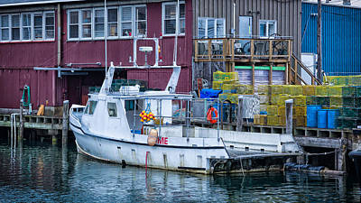 Photograph - Me Lobster Boat by Denis Lemay