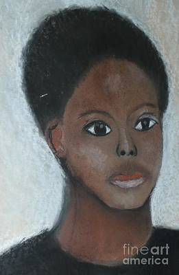Mixed Media - Me Myself And I by Angela L Walker