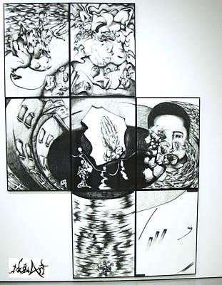 Me Art Print by Ruben Rosado