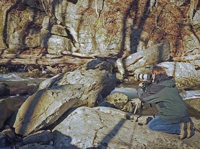 Photograph - Me Shooting Crabtee Falls by Amber Kresge