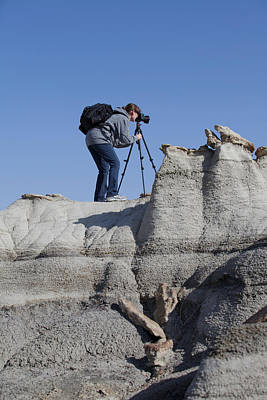 Photograph - Me Shooting In New Mexico by Amber Kresge