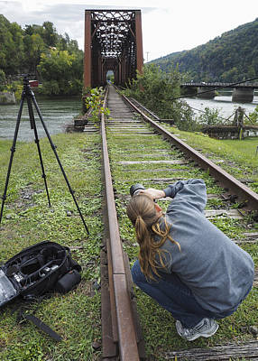 Photograph - Me Shooting In West Virginia by Amber Kresge