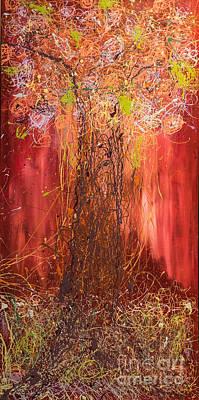 Me Tree Art Print