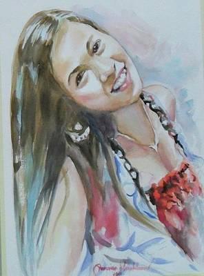 Painting - Me by Wanvisa Klawklean