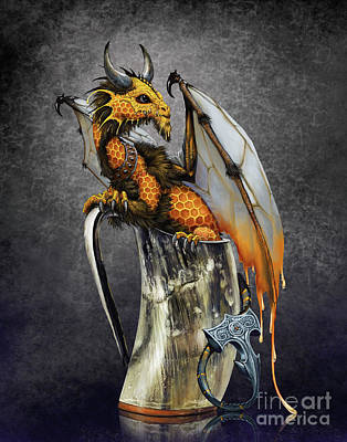 Digital Art - Mead Dragon by Stanley Morrison
