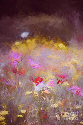 Mixed Media - Meadow, 2018 by Helen White