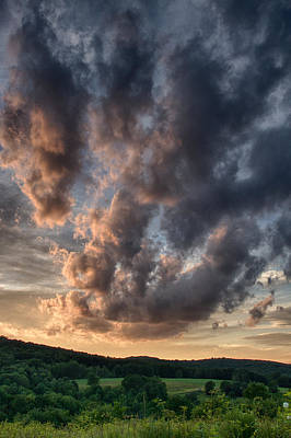 Cloudscape Photograph - Meadow At Rest by Nathan Larson