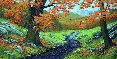 Painting - Meadow Brook by Frank Wilson