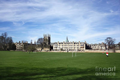Photograph - Meadow Building Oxford by Terri Waters