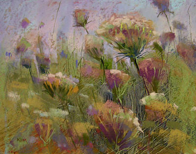 Pastel - Meadow Dance by Karen Margulis
