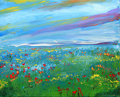 Painting - Meadow Drops By Colleen Ranney by Colleen Ranney