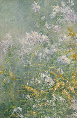 Painting - Meadow Flowers by John Henry Twachtman