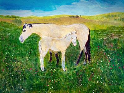 Painting - Meadow Grazing by Anne Sands
