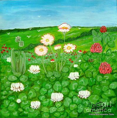 Meadow In Bloom Art Print