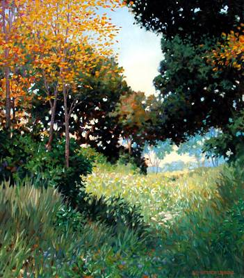 Meadow Art Print by Kevin Lawrence Leveque