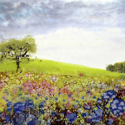 Painting - Meadow No.2 by Jennifer Creech