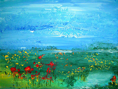 Painting - Meadow Pond By Colleen Ranney by Colleen Ranney
