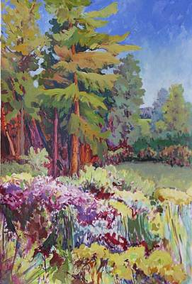 Wild Asters Painting - Meadow, Prince Edward County by Sue Johns