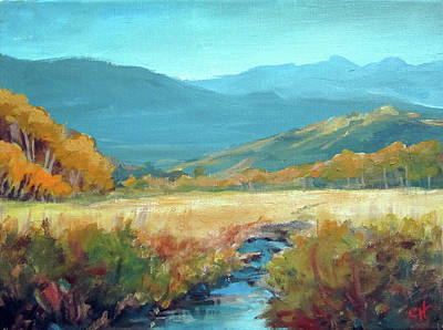 Painting - Meadow Stream by Carol Hart