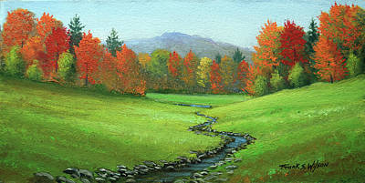Meadow Stream Art Print